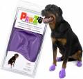 Pawz boots 防水狗腳套 L (紫)