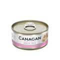 Canagan 貓用無穀物雞肉+火腿配方罐頭 75g