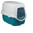 trixie 綠白有蓋貓盤 40x40x56cm