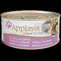 Applaws 鯖魚+沙甸魚貓罐頭 70g