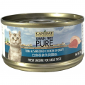 CANIDAE® PURE 白身吞拿魚與雞絲貓罐頭 (肉絲) 70g