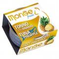 Monge 生果系列 貓罐頭 80g - 吞拿魚+菠蘿