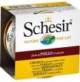 SchesiR 水煮系列 雞肉絲白飯水煮貓罐頭85g