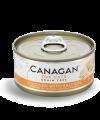 Canagan 貓用無穀物雞肉+三文魚配方罐頭 75g