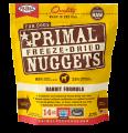 Primal (原始) 犬用低溫脫水糧- 兔肉配方 14oz x 4包同款原箱優惠