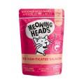 Meowing Heads無穀物成貓用主食濕包-93%三文魚、雞肉&草飼牛100g