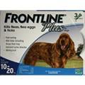 Frontline Plus  殺蚤滴頸劑 10-20 KG (Dog)