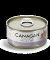 Canagan 貓用無穀物雞肉+鴨肉配方罐頭 75g
