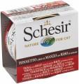 SchesiR 水煮系列 吞拿魚牛肉飯水煮貓罐頭 85g