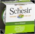 SchesiR 啫喱系列 雞肉絲飯貓罐頭 85g