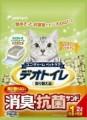 日本 Unicharm 消臭大師 滲透式綠茶紙貓砂 4L