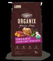 Organix USDA 無穀物成犬糧-有機雞肉甜薯配方 10lb