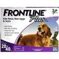 Frontline Plus  殺蚤滴頸劑 20-40 KG (Dog)
